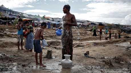 لاجئون من الوهينغل في بنغلادش