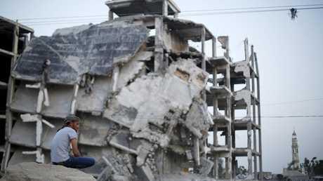 آثار الدمار في قطاع غزة - أرشيف