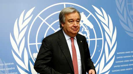 الأمين العام للأمم المتحدة، أنطونيو غوتيرش