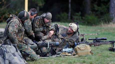 جنود من الجيش الألماني - أرشيف -