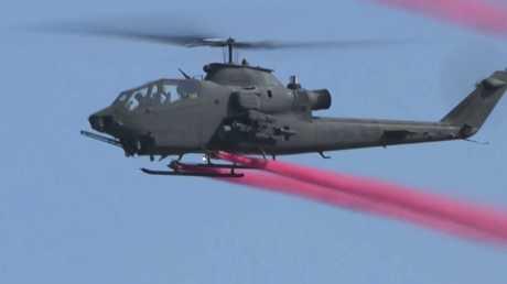 كوريا الجنوبية تشهد عرضا جويا بمناسبة عيد القوات المسلحة