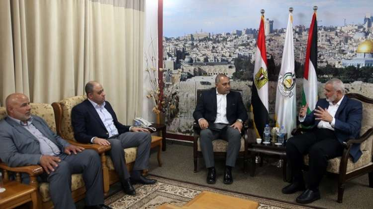 وفد أمني مصري رفيع يصل إلى غزة