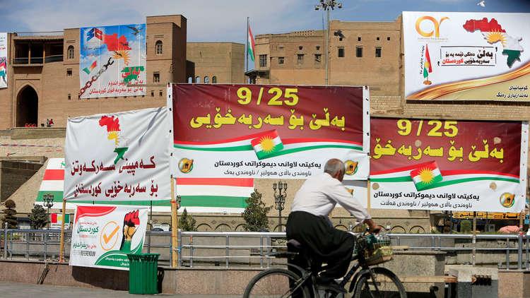 إقليم كردستان يحل مجلس الاستفتاء ويشكل مجلسا سياسيا ليتولى الحوار مع بغداد