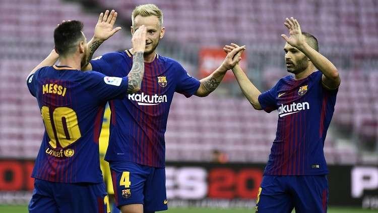 غياب الجمهور لم يوقف قطار انتصارات برشلونة