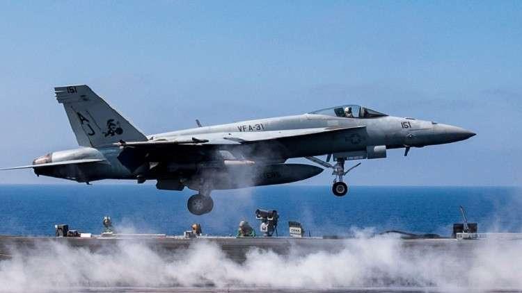 البحرية الأمريكية تحقق في تحطم طائرة واختفاء أخرى