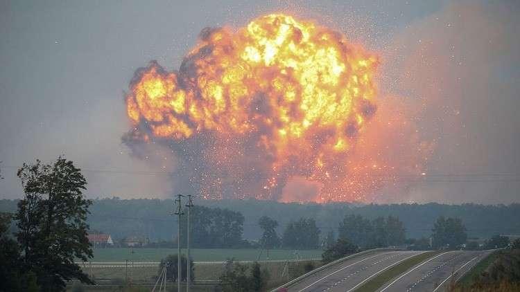 حريق يفقد أوكرانيا أكثر مما أنفقته في حرب