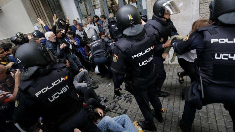 حقوقيون روس يدعون إلى تحقيق دولي في أعمال العنف بكتالونيا