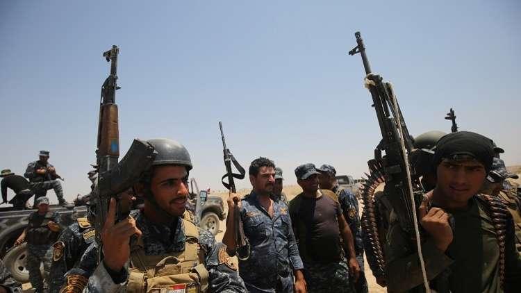 جنود عراقيون في الرمادي