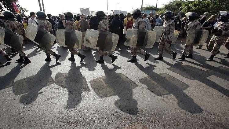 مظاهرات شمالي مالي ضد وجود القوات الفرنسية