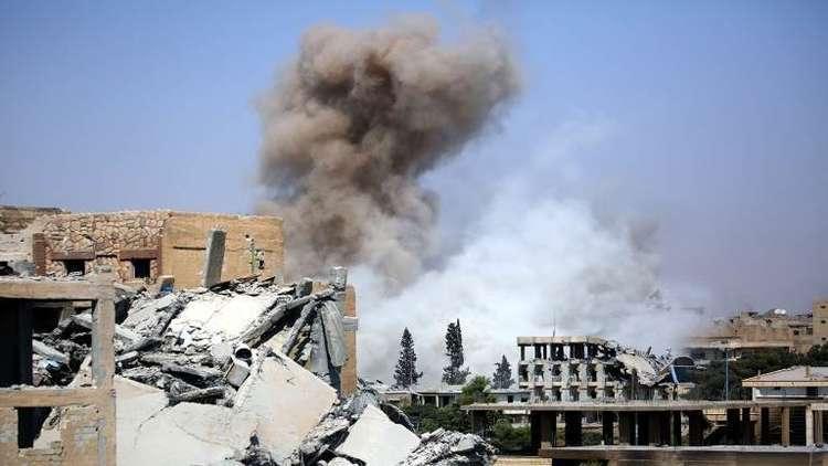 نشطاء: مقتل 45 مدنيا بقصف للتحالف الدولي على الرقة