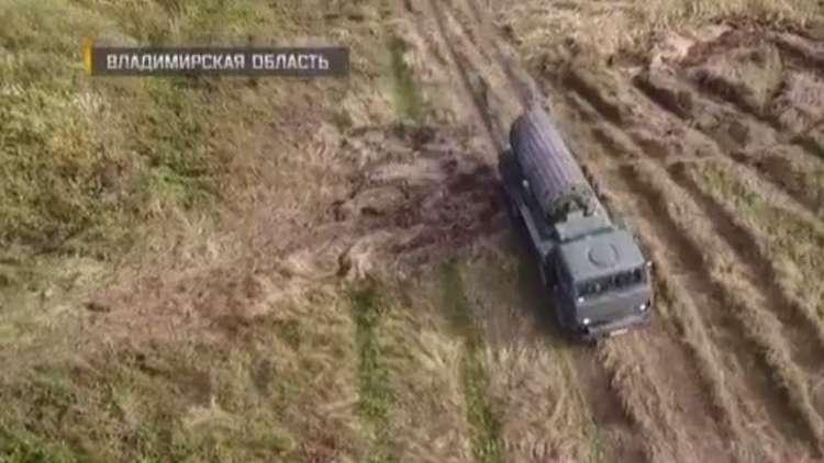 تقنية عسكرية روسية لمد الطرق عبر المستنقعات