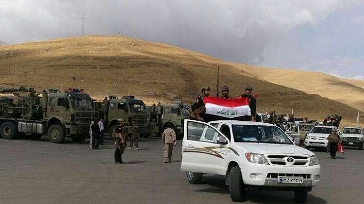 قوات عراقية تشارك في المناورات العسكرية مع كل من تركيا وإيران