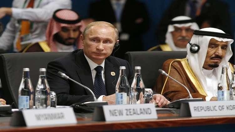 الكرملين يكشف أجندة المفاوضات بين بوتين والملك سلمان