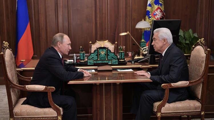 بوتين يعين نائب رئيس البرلمان الروسي قائما بأعمال رئيس داغستان