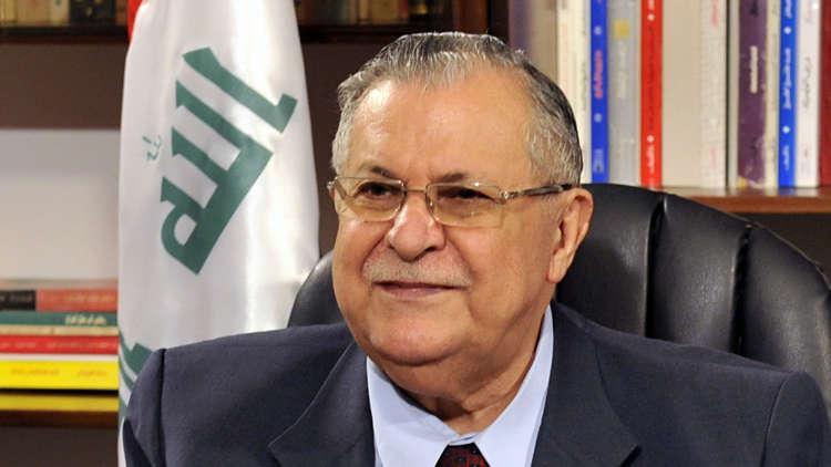 الرئيس العراقي معصوم ينعى