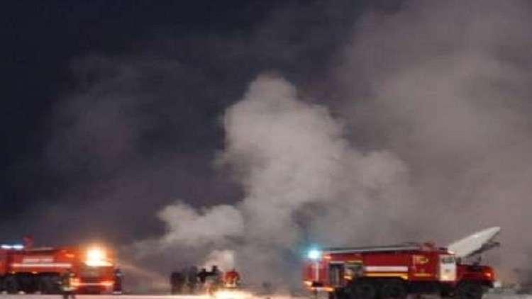 مصرع 5 أشخاص في تحطم طائرة في كازاخستان