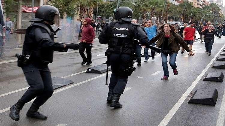 خلاف جديد بين مدريد وكتالونيا