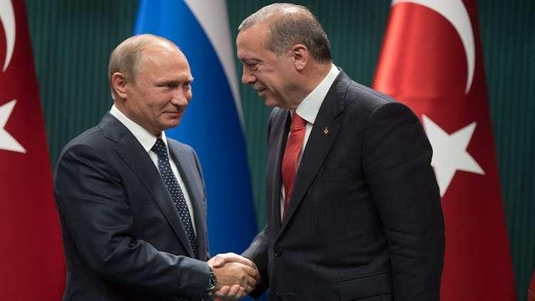 لافروف: لقاء بوتين وأردوغان يثمر في سوريا
