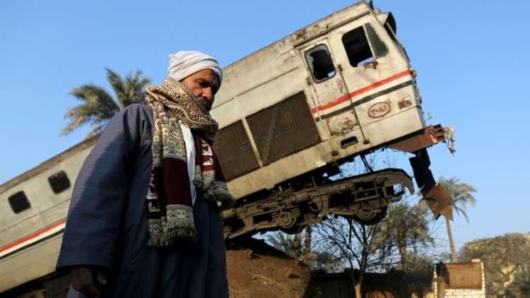 القضاء المصري يحيل 6 أشخاص للمحاكمة على خلفيه تصادم قطارين