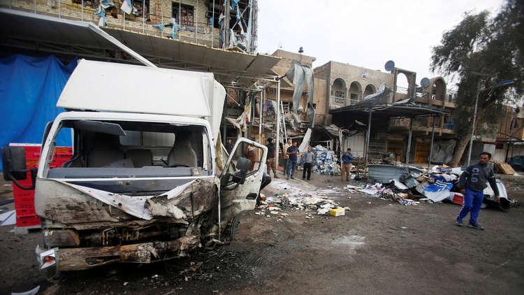 قتيلان وأربعة جرحى بتفجير في الحسينية شمالي بغداد