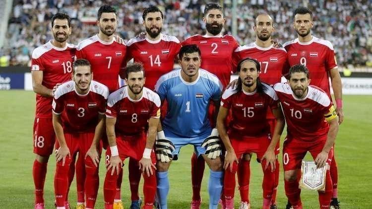 التشكيلة الرسمية لمنتخب سوريا أمام أستراليا