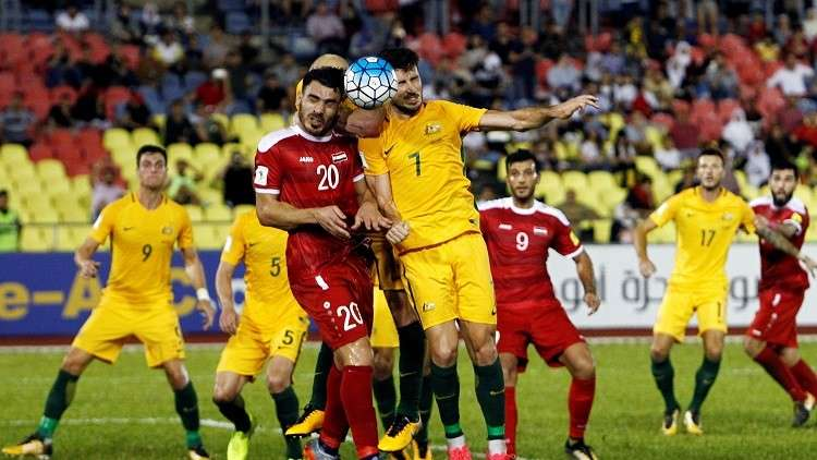 سوريا تفتقد جهود عدد من نجومها في لقاء الإياب ضد أستراليا