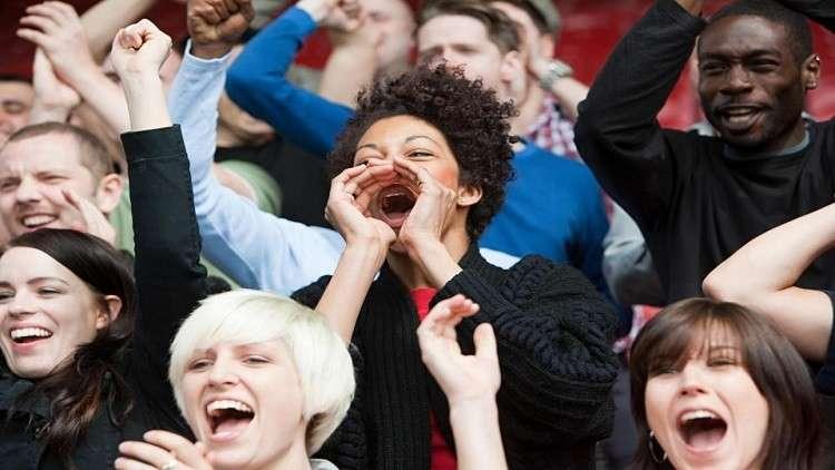 تأثير مشاهدة المباريات الرياضية على قلبك