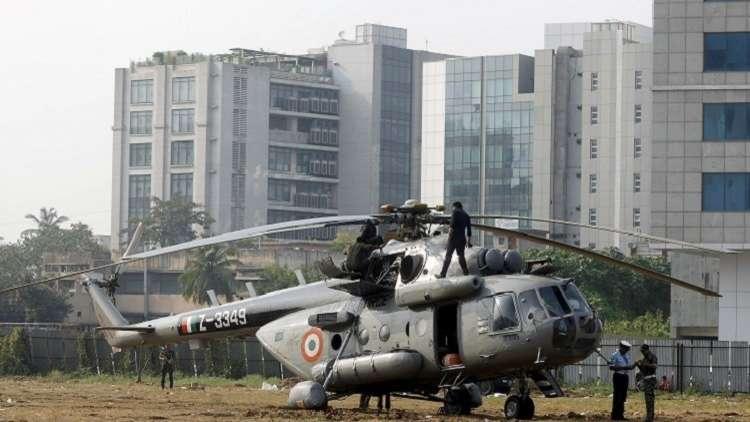 مقتل 7 أشخاص إثر سقوط مروحية عسكرية في الهند