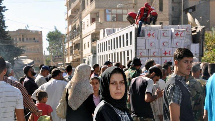الأمم المتحدة: لا يمكن إيصال مساعدات إنسانية إلى دير الزور بسبب القتال