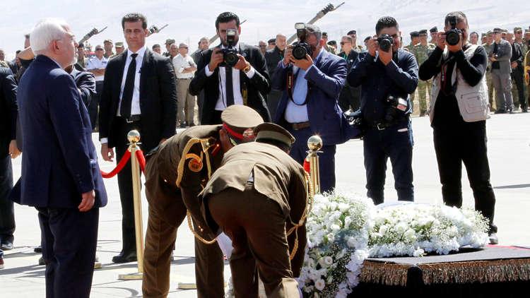 ظريف من السليمانية: لا نحمل أكراد العراق الأخطاء الإستراتيجية لبعض الأشخاص