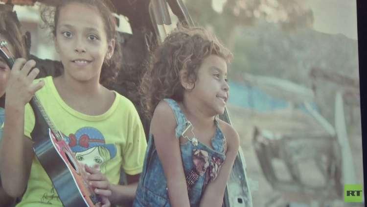 ضوء في الظلام.. معرض فني في غزة