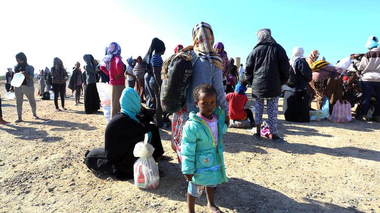 قوات حكومة الوفاق تلقي القبض على 3150 مهاجرا غير شرعي في صبراتة الليبية