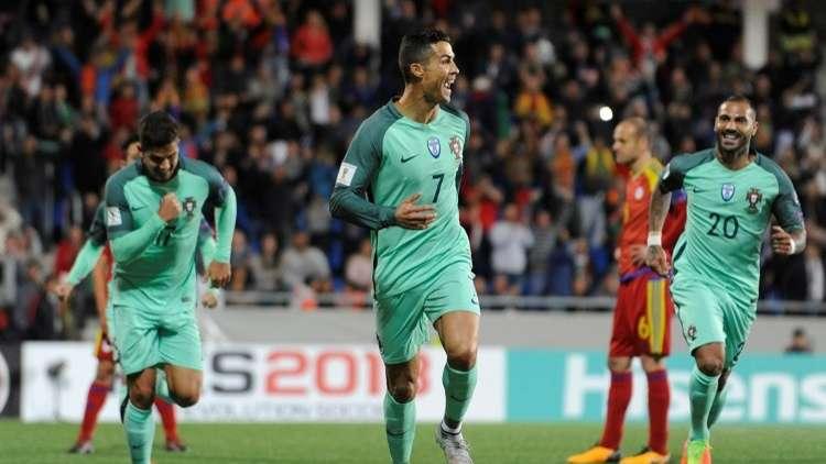بالفيديو.. رونالدو ينقذ البرتغال بأرقامه القياسية