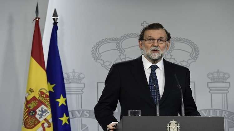 راخوي لا يستبعد استخدام صلاحيات دستورية لمنع استقلال كتالونيا