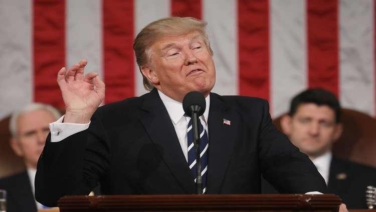 ترامب: إيران تمول كوريا الشمالية وتتاجر معها