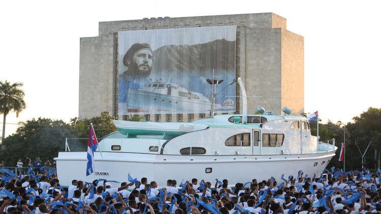 للمرة الأولى كوبا تحيي الذكرى الخمسين لمقتل غيفارا بغياب فيدل كاسترو