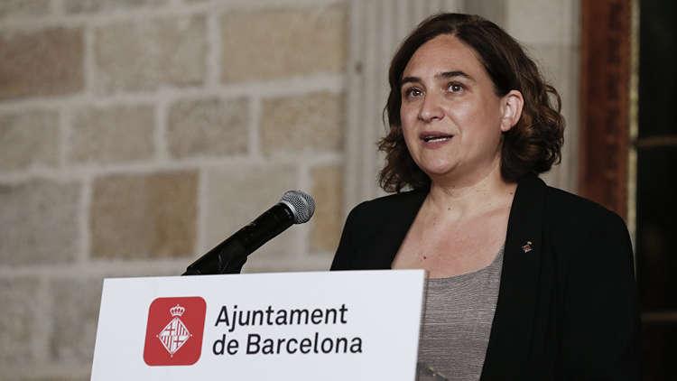 عمدة برشلونة: نتائج الاستفتاء لا تكفي لإعلان استقلال كتالونيا