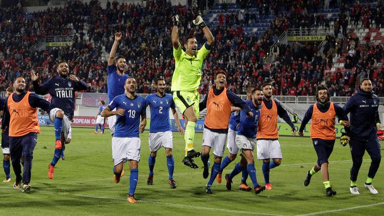 إيطاليا تهزم ألبانيا.. وإسبانيا تؤكد زعامتها لمجموعتها