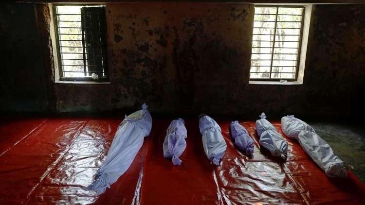 ارتفاع حصيلة ضحايا غرق قارب الروهينغا إلى 23 قتيلا