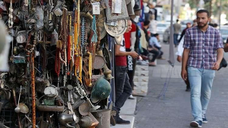 أرشيف -سوق وسط عمان - الأردن