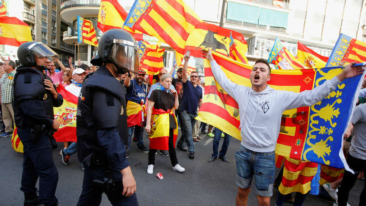 مدريد لن تخلي سبيل كتالونيا