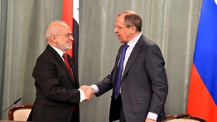 محادثات بين لافروف والجعفري في موسكو الأسبوع المقبل