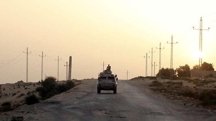 مجند مصري يضحي بحياته لإحباط عملية تفجير بسيناء