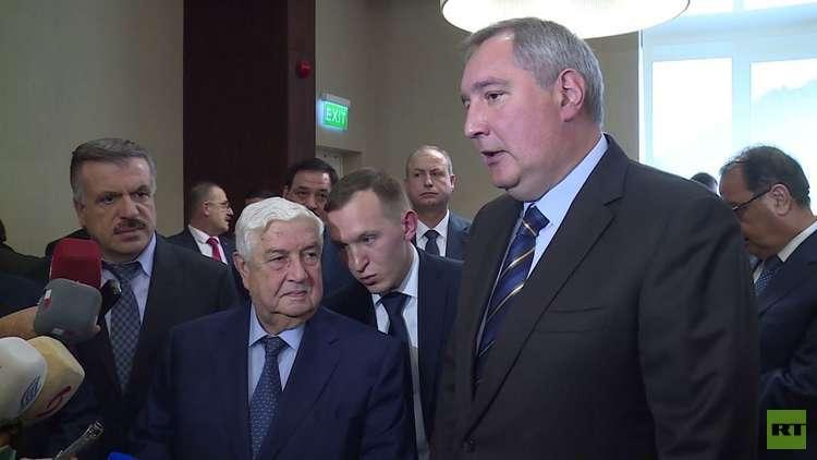 المعلم: اقتصاد سوريا يعتمد على الشركات الروسية