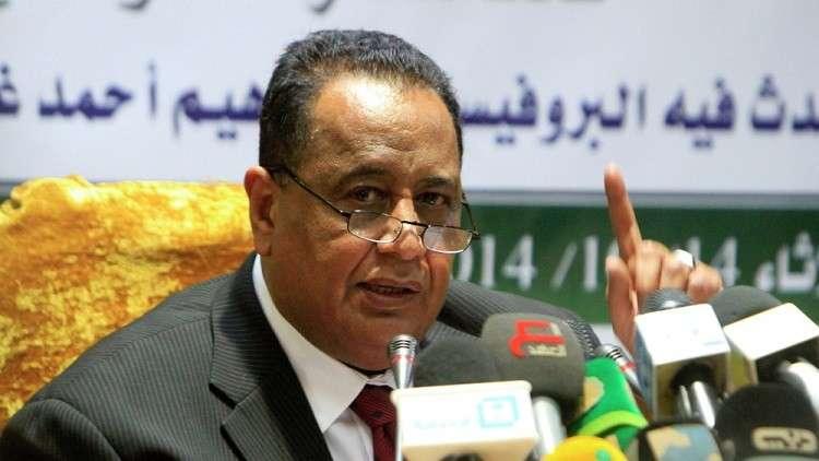 السودان يجدد عزمه اللجوء إلى التحكيم الدولي لحل قضية حلايب مع مصر