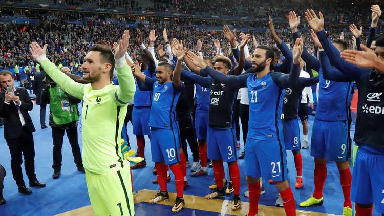 فرنسا تحجز مقعدها في مونديال روسيا 2018