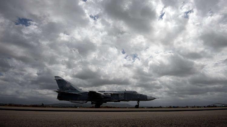 مصدر مطلع يكشف عن ملابسات تحطم القاذفة الروسية في قاعدة حميميم بسوريا