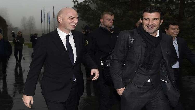 البرتغالي لويس فيغو ينضم لمنظومة الاتحاد الأوروبي لكرة القدم
