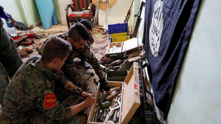 البنتاغون: 400 مسلح من داعش مايزالون في الرقة