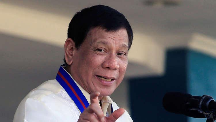 دوتيرتي: روسيا ستمنح الفلبين 5 آلاف بندقية كلاشنيكوف